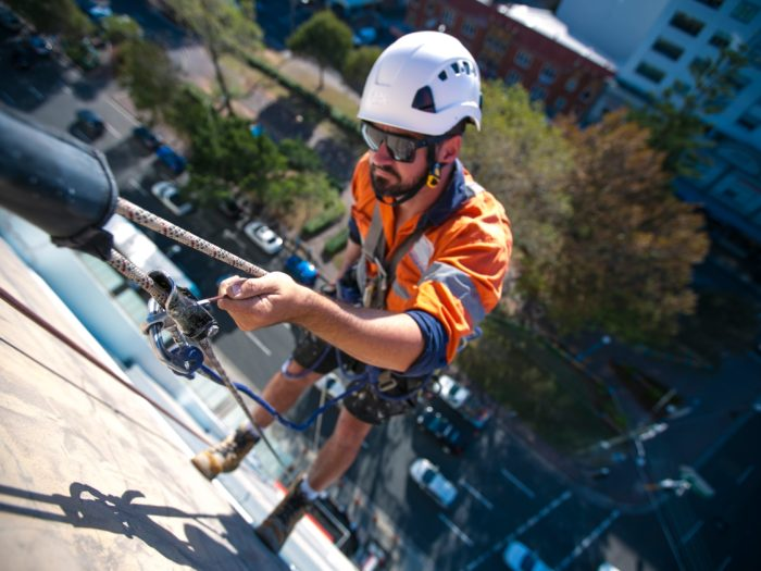 Rope access and positioning systems